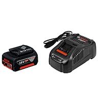 BOSCH リチウムバッテリー18V6.0Ah充電器セット A1860LIB-SET