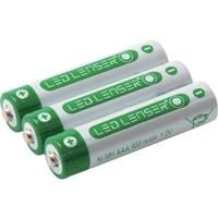▲LEDLENSER H6R用充電池