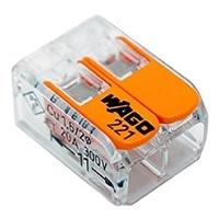 WAGO ワゴ ワンタッチコネクター 2極用 WFR-2BP