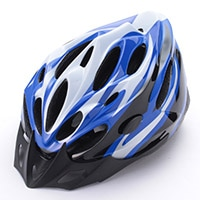 バイシクルヘルメット <58−61cm> (ブルー)YD2671