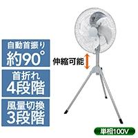 ナカトミ アルミ工業扇 45cm HSE-45A【別送品】