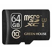 高速転送「UHS-I」対応microSDXCカード 64GB [GH-SDMRXCUA64G]