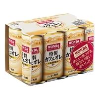【ケース販売】アサヒ ワンダ 特製カフェオレ 缶185g×30本