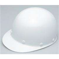ヘルメット 建設用 ツバ有り 白