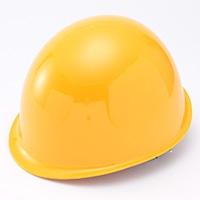 ヘルメット 電工用 黄 EM-5型 ツバ無