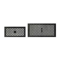 通風パネル 150×300 ブラック
