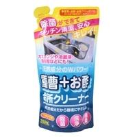 友和 重層+お酢 台所クリーナー 詰替 350ml