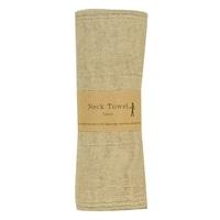 【trv・数量限定】ウォーキングタオル 麻 6枚重 110X16cm