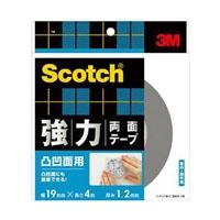 3M スコッチ(R) 強力両面テープ 凸凹面用 19 4SKH-19