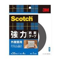 3M スコッチ(R) 強力両面テープ 外壁面用 20 4SKB-20