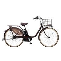 【自転車】【全国配送】《パナソニック》ビビスタイル 内装3段 リトルLEDビームランプ2 26インチ ビターブラウン【別送品】