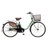 【自転車】【全国配送】ビビ・DX内装3段足も灯4-LEDビームランプ24インチアップルグリーン【別送品】