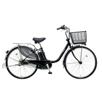 【自転車】【全国配送】ビビ・DX内装3段足も灯4-LEDビームランプ24インチピュアブラック【別送品】