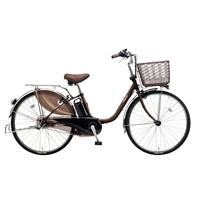 【自転車】【全国配送】ビビ・DX内装3段足も灯4-LEDビームランプ24インチチョコブラウン【別送品】
