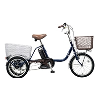 【自転車】《パナソニック》ビビ・ライフ USブルー電動アシスト三輪車