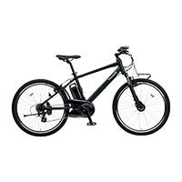 【自転車】【全国配送】《パナソニック》ハリヤ 26インチ マットナイト【別送品】