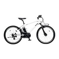 【自転車】【全国配送】《パナソニック》ハリヤ 26インチ クリスタルホワイト【別送品】