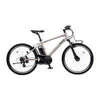 【自転車】【全国配送】《パナソニック》ハリヤ 26インチ ストーングレー【別送品】