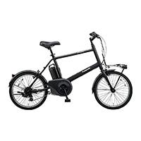 【自転車】【全国配送】《パナソニック》ベロスター・ミニ 20インチ ミッドナイトブラック【別送品】