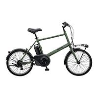 【自転車】【全国配送】《パナソニック》ベロスター・ミニ 20インチ マットオリーブ【別送品】