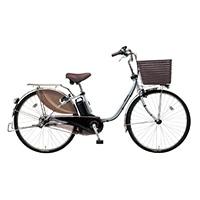 【自転車】《パナソニック》電動自転車 ビビ・DX 24インチ シルバー【別送品】