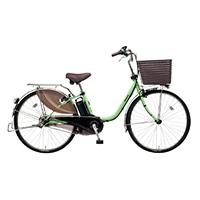 【自転車】《パナソニック》電動自転車 ビビ・DX 24インチ グリーン【別送品】