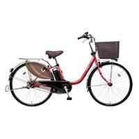 【自転車】《パナソニック》電動自転車 ビビ・DX 24インチ レッド【別送品】