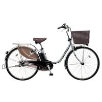 【自転車】《パナソニック》電動自転車 ビビ・DX 26インチ シルバー【別送品】