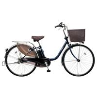【自転車】《パナソニック》電動自転車 ビビ・DX 26インチ ブルー【別送品】