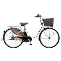 【自転車】《パナソニック》電動自転車 ビビ・DX 26インチ ホワイト【別送品】