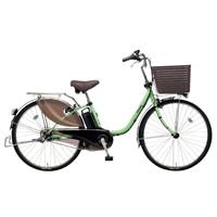 【自転車】《パナソニック》電動自転車 ビビ・DX 26インチ グリーン【別送品】