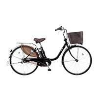 【自転車】《パナソニック》 電動アシスト自転車 VIVI ビビ・DX 26型 ピュアブラック