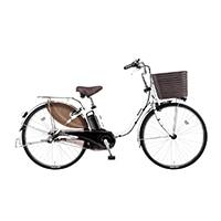 【自転車】《パナソニック》 電動アシスト自転車 VIVI ビビ・DX 26型 アクティブホワイト