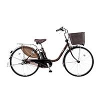 【自転車】《パナソニック》 電動アシスト自転車 VIVI ビビ・DX 26型 チョコブラウン