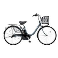 【店舗限定】【自転車】《パナソニック》 電動アシスト自転車 ビビ・YX 26型 内装3段 プラズマグレー