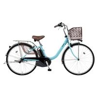 【店舗限定】【自転車】《パナソニック》 電動アシスト自転車 ビビ・YX 26型 内装3段 エアリーブルー