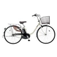 【自転車】《パナソニック》電動アシスト自転車 VIVI ビビ・L 24インチ ウォームシルバー