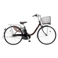 【自転車】《パナソニック》電動アシスト自転車 VIVI ビビ・L 24インチ チョコブラウン