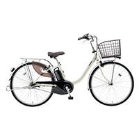 【自転車】《パナソニック》電動アシスト自転車 VIVI ビビ・L 26インチ ウォームシルバー 電動アシスト自転車