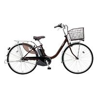 【自転車】《パナソニック》電動アシスト自転車 VIVI ビビ・L 26インチ チョコブラウン 電動アシスト自転車
