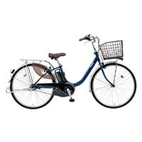 【自転車】《パナソニック》電動アシスト自転車 VIVI ビビ・L 26インチ ファインブルー 電動アシスト自転車