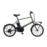 【自転車】《パナソニック》 電動アシスト自転車 VELO-STAR ベロスター・ミニ 20型 マットオリーブ