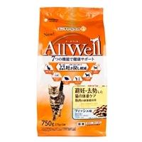 AllWell避妊去勢猫体重ケアフィッシュ750g