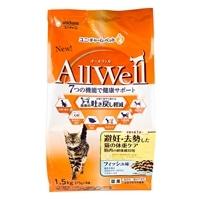 AllWell避妊去勢猫体重ケアフィッシュ1.5k