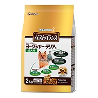 【数量限定】ベストバランス ヨークシャー・テリア成犬用 2kg(カリカリ仕立て)