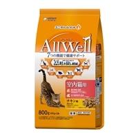 AllWell 室内猫用 チキン味挽き小魚とささみ フリーズドライパウダー入り 800g
