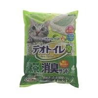 デオトイレ 緑茶・消臭サンド 4L