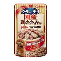 【数量限定】グラン・デリパウチ成犬レバー・鶏ささみ60g