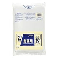 【ケース販売】PL28 重量物対応袋 20L 透明 300枚(10枚入×30冊)【別送品】