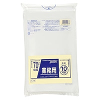 【ケース販売】PL78 重量物対応袋 70L 透明 100枚(10枚入×10冊)【別送品】